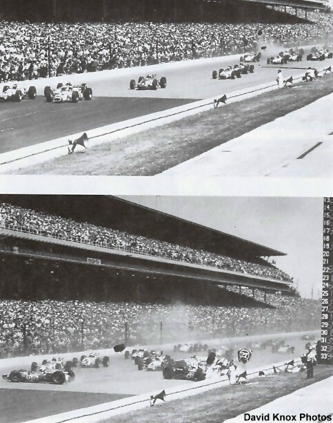The 1966 Indy 500 start