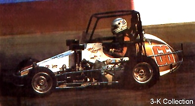 1985 USAC Midget Champion in Stan Lee's #66 VW powered racer