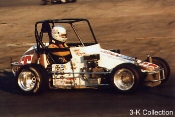 1985 USAC Midget Champion in Stan Lee's #66 VW powered racer at the Speedrome