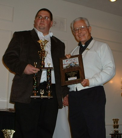 2004 USAC Indianapolis Speedrome Ford Focus Midget Car Series Champion Car Owner Mel Kenyon